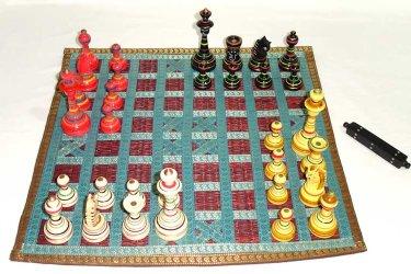 Le Chaturanga pour 4 joueurs