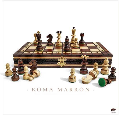 Les jeux d'échecs en bois Khaplo sont réputés comme étant d'excellente qualité