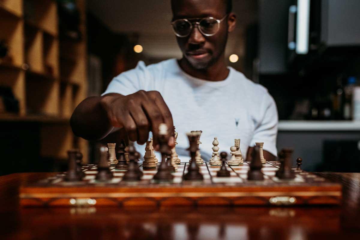 jeux d'échecs classique de style Staunton