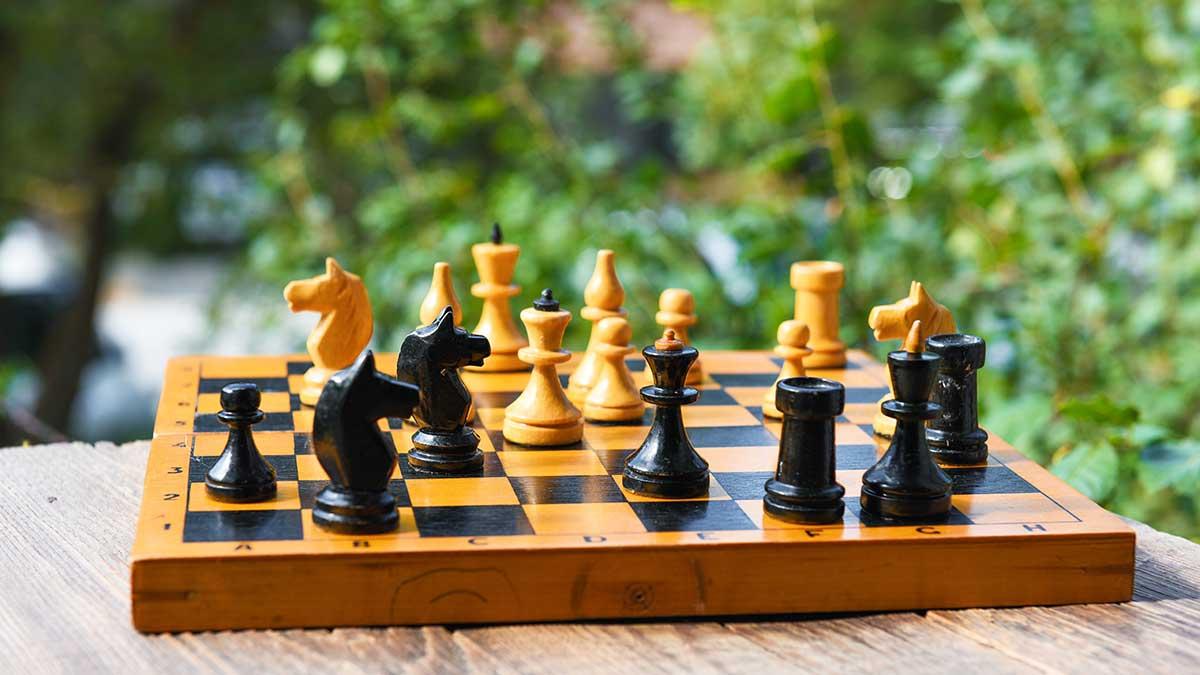Jeu d'échecs pliable idéal pour voyager