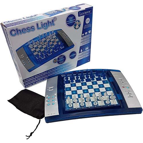 jeu d'échecs electonique 64 niveaux de difficulté répartis en 4 styles de jeux