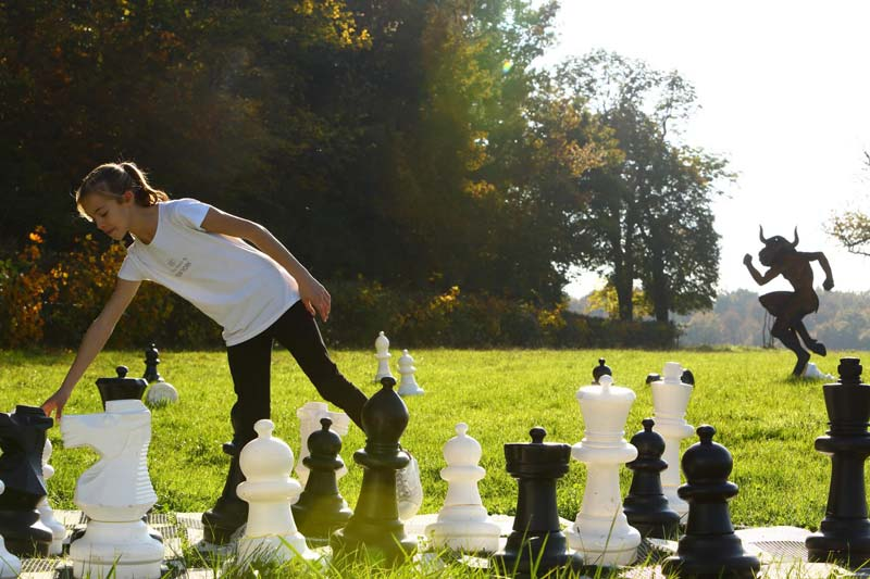 Diverti'Parc - Un parc pour exprimer sa passion des jeux d'échecs grandeur nature en Bourgogne