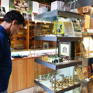 Le musée des échecs de Marostica regroupe toute la culture des jeux d'échecs