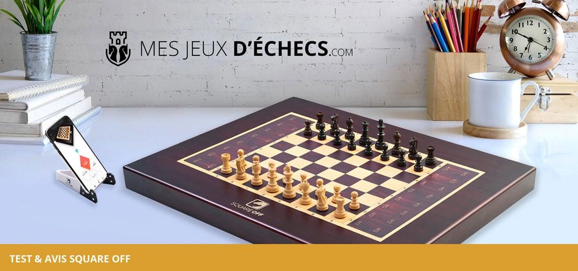Echiquier Square Off : avis sur le meilleur jeu d'échecs électronique