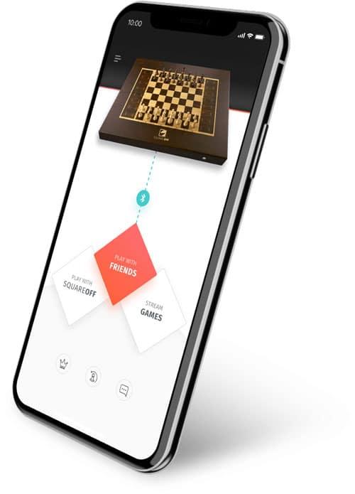 L'application Square off propose de nombreuses fonctionnalités