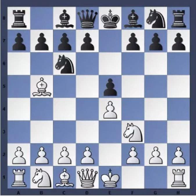 Une des ouvertures d'échecs les plus connues : L'ouverture Espagnol ou Ruy Lopez