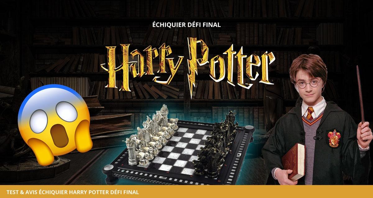 Analyse et test du jeu d'échecs Harry Potter