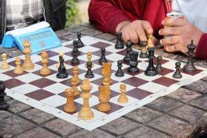 Quelle taille pour un jeu d'échecs ?